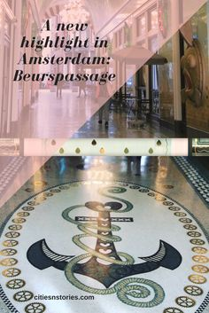 Discover the latest highlight in Amsterdam city center: Beurspassage. Amsterdam City Centre, News Highlights, Cities In Europe, City Style, City Life, Traveling By Yourself, Travel Tips, Vacation, History