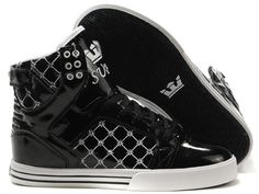 san francisco c8ae3 deb5a Find Supra Skytop Bright Black White Men s Shoes Lastest online or in  Pumacreeper. Shop Top Brands and the latest styles Supra Skytop Bright  Black White ...