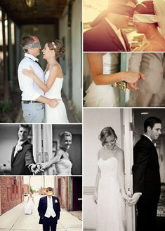Photos of American bride and groom