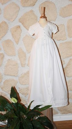 Christening Gown in old english style for boys