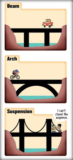 The 3 basic types of bridges CC Cycle 2 Week 20 & 21 Science Project