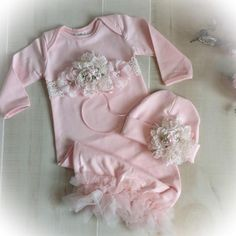 Newborn Girl Coming Home Outfit, Newborn Girl Gown, Pink Coming Home Outfit, Baby Girl Take Home Outfit, Newborn Girl Layette Newborn Coming Home Outfit, Going Home Outfit, Girls Coming Home Outfit, Take Home Outfit, Gifts For Newborn Girl, Baby Outfits Newborn, Baby Girl Newborn, Gowns For Girls, Baby Gown
