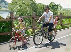#가족 라이딩 #Family riding