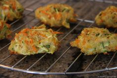 vegetable quinoa biscuits - baby led weaning foods