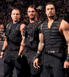 The Shield - the best looking men in the WWE. Also the most exciting new talent! BELIEVE IN THE SHIELD! :)