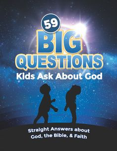 59 Big Questions Kids Ask About God — Teach Sunday School Toddler Sunday School, Sunday School Lessons, Sunday School Crafts, Bible Study For Kids, Bible Lessons For Kids, Youth Lessons, Kids Bible, Kids Questions, This Or That Questions