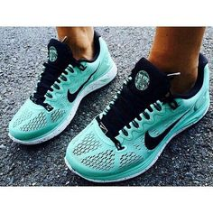 Nike LunarGlide 5 Tiffany Blue Running Shoes 2014     #Fashion Gril's #Sneakers 2014 Summers