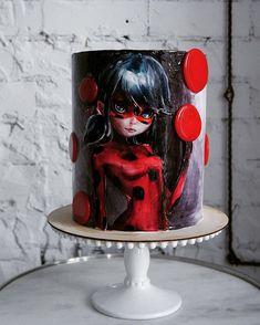 protien mug cake Ladybug Cakes, Owl Cakes, Gorgeous Cakes, Amazing Cakes, Fondant Cakes, Cupcake Cakes, Fruit Cakes, Bolo Russo, Bolo Lady Bug