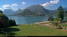 Talloires - Lac Annecy - Webcam September
