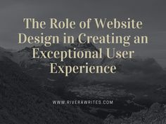 Website design lets you achieve the right balance of appeal and usefulness, allowing you to successfully deliver the message you intend to convey.