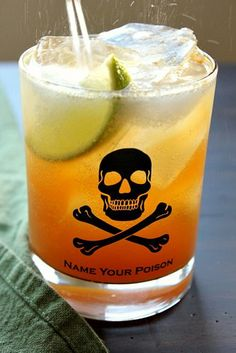 The Bojon Gourmet: Dark and Stormy, with fresh ginger, agave, Gosling's Black Seal Rum, sparkling water, and lime