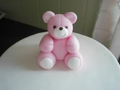how to pink teddy bear
