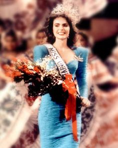 Miss Universe 1986 Barbara Palacios Teyde from Venezuela
