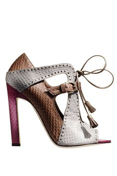 Brian Atwood Fall 2014- reminds me of Neapolitan ice cream