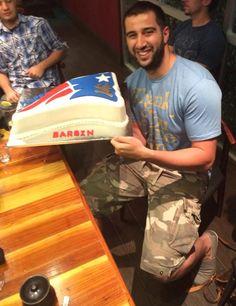 Patriots Birthday Cake