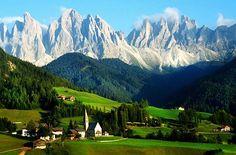 Lyžování a turistika v Rakouských Alpách