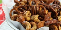 Slow Cooker Holiday Spiced nuts