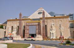 Wafi Mall Center, Dubai, UAE