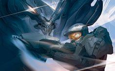 Halo 4 Ancient Metallic Artwork Print - Acme Archives - Halo - Artwork at Entertainment Earth Metal Artwork, Artwork Prints, John 117, Hidden Mystery, Halo Series, Halo Game, Art Terms, Master Chief, Giclee Print