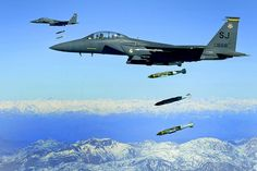 F-15 Strike Eagle Seymour Johnson AFB, NC Bombs away!!