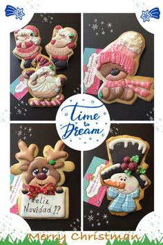 Navidad...  navidad; Christmas cookie set; cookie artist, Sueños de Caramelo