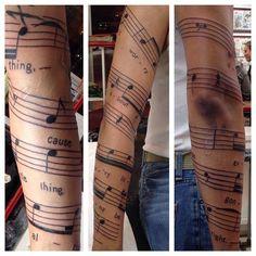 No worries...#musictattoo #bobmarley #threelittlebirds #lineworktattoo