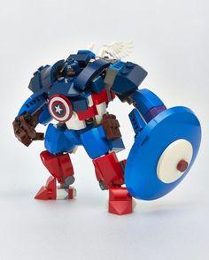 Captain America Mech Suit - Lego Ideas: