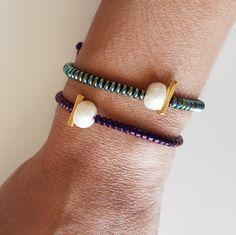 Memory Wire Bracelets, Bracelets For Men, Bangle Bracelets, Bangles, Diy Jewelry, Handmade Jewelry, Jewelry Design, Jewelry Making, Bohemian Jewellery