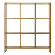Sharp Edge Square Shelf 3x3 / シェルフ / CHLOROS