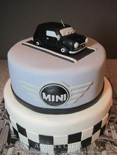 Mini Van cake / Mini van taart / auto taart