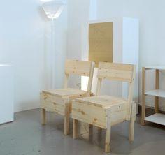 Enzo Mari chairs