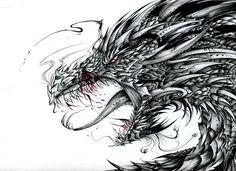 The Fourth Dragon by PhantomSeptember.deviantart.com on @deviantART