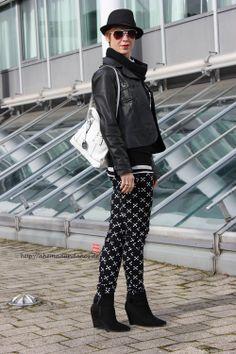 blackandwhite - Outfit http://ahemadundahos.de/?p=3318