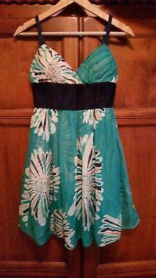 Catherine Malandrino floral silk Summer Dress dress size 2