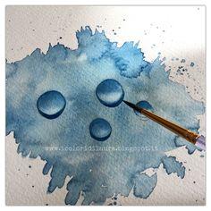 Faccio una pausa dai tutorial creativi e vi regalo qualche nuovo suggerimento per imparare a dipingere con gli acquerelli. E' un periodo denso di lavoro e come al solito di progetti e per prendermi una pausa avrei voglia di un pochino di leggerezza. Sarà per questo che l'illustrazione che vi mostro mi è uscita dal pennello in un battibaleno… Comunque …