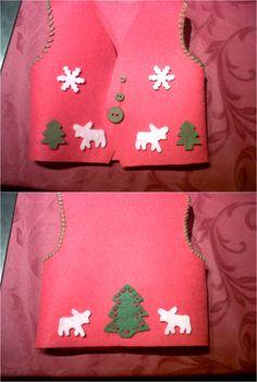 chaleco navidad renos