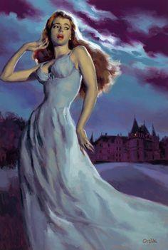 The Evil in Pemberley House - cover by Glen Orbik