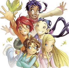 W.I.T.C.H. aww i miss this show and the books :(