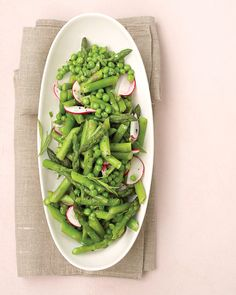 To save time, the asparagus in this bright salad can be cooked, cooled, dried, and then wrapped up and refrigerated up to a day in advance.