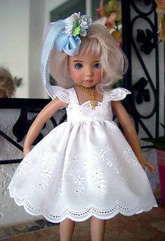 Eyelet Dress FTS Effner 13 Little Darling Little Charmers Doll Designs   eBay. Ends 5/6/14. Sold for $39.89.
