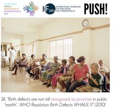"""""""Birth defects are not still recognised as priorities in public health"""". WHO Resolution Birth Defects Global Awareness, Public Health, Disability, Priorities, Did You Know, Birth, World, Being A Mom, Nativity"""