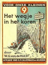 Het wegje in het koren. W. G. van de Hulst.