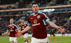 Michael Keane bin leave Manchester United in 2014, and e move enter Burnley to seek first team football