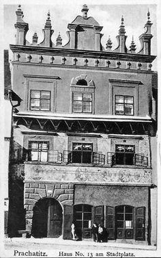 Prachatice 1912