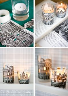 DIY Paper Votives