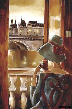 Роскошные и гламурные работы американской художницы Триш Биддл./Luxury and glamor work of American artist Trish Biddle .