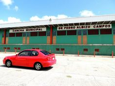 Municipal Court: Dr Pedro Albizu Campos  Here people play basketball, volleyball and do zumba