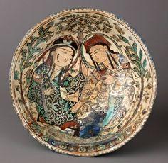 Turkish Seljuk ceramics. 12-13. century.