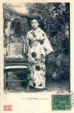 a woman in Haiphong Japanese History, Japan Photo, Travel Abroad, Geisha, Southeast Asia, Vietnam, Two By Two, Poster, Africa