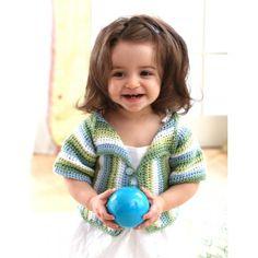 Lapel Jacket, #crochet, free pattern, baby, #haken, gratis patroon (Engels), jasje, vestje